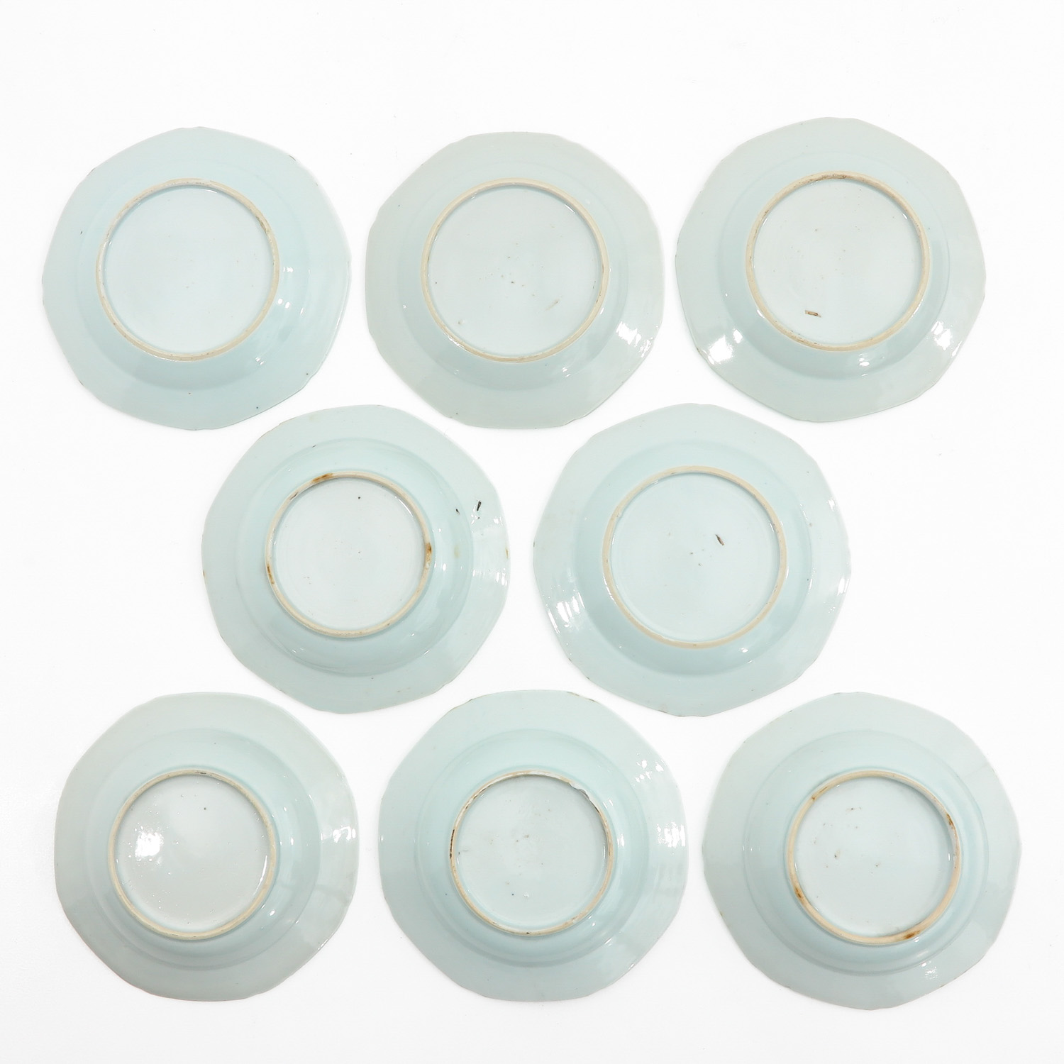 A Series of 8 Blue and White Plates - Image 2 of 9
