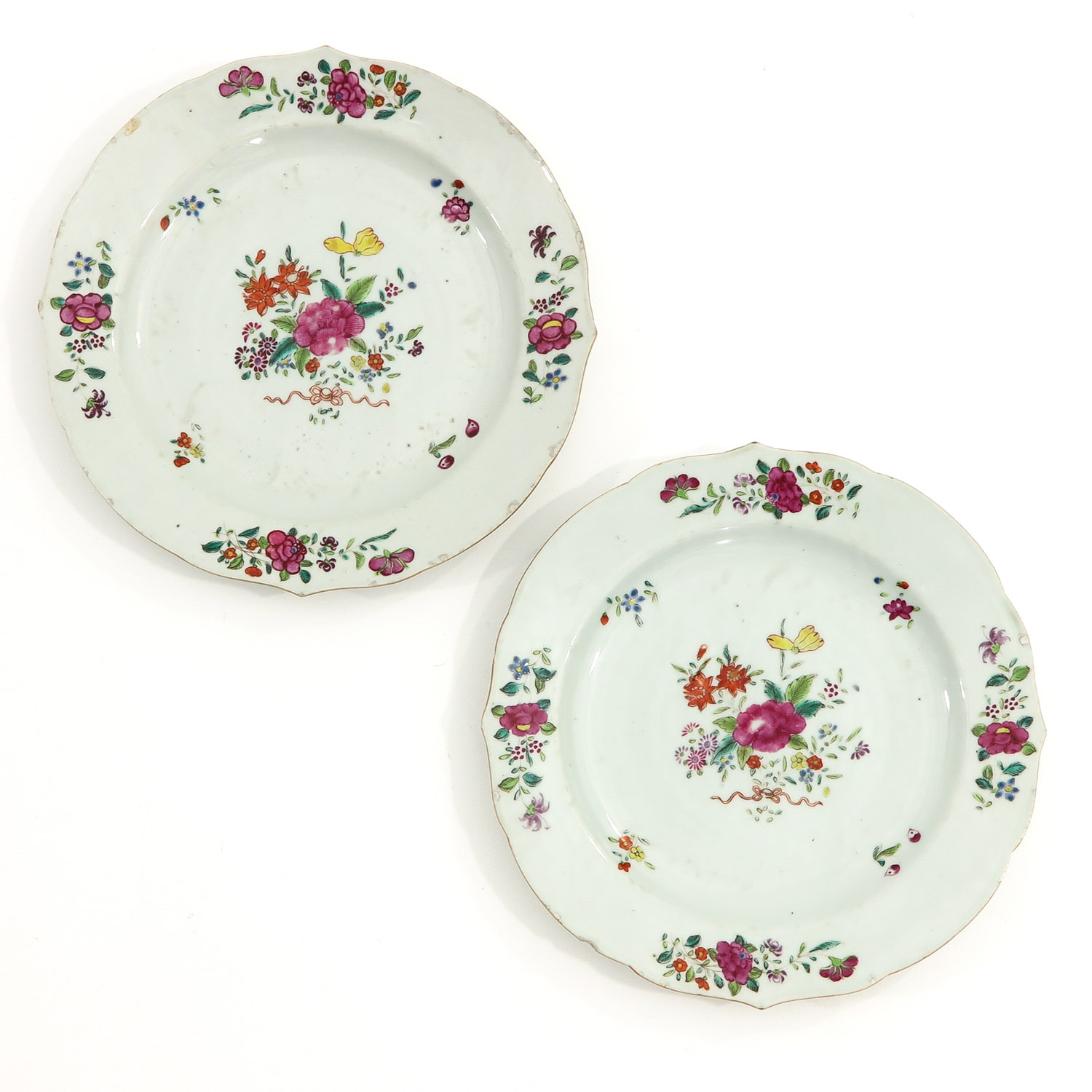 A Series of Famille Rose Plates - Image 7 of 10