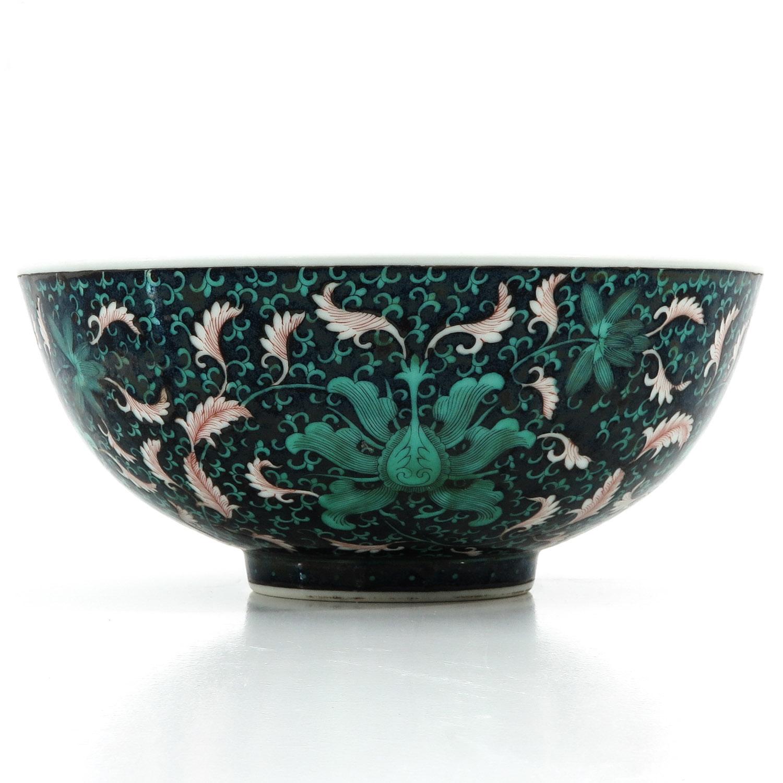 A Famille Noir Bowl - Image 2 of 10