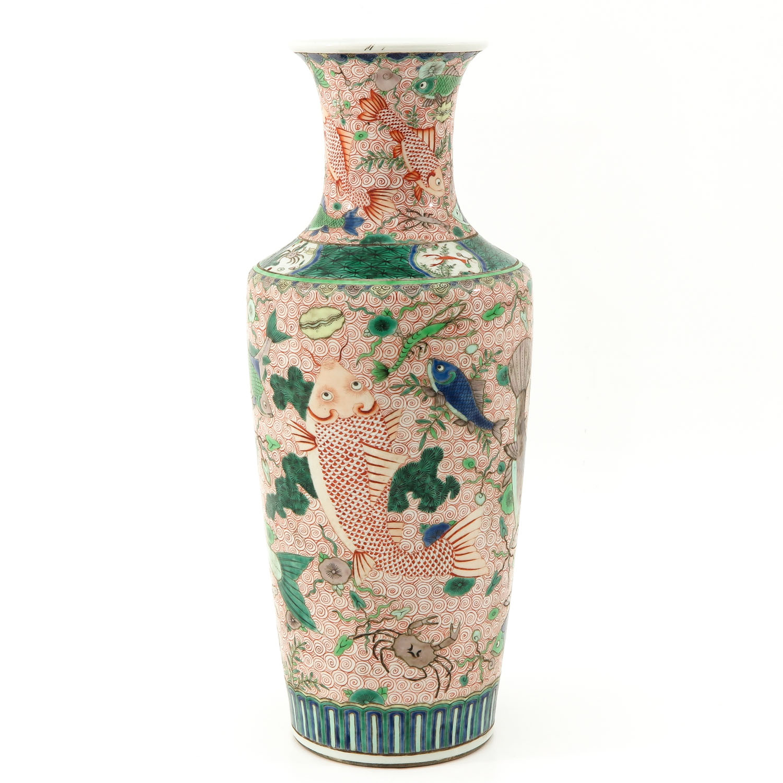 A Polychrome Vase - Image 4 of 10