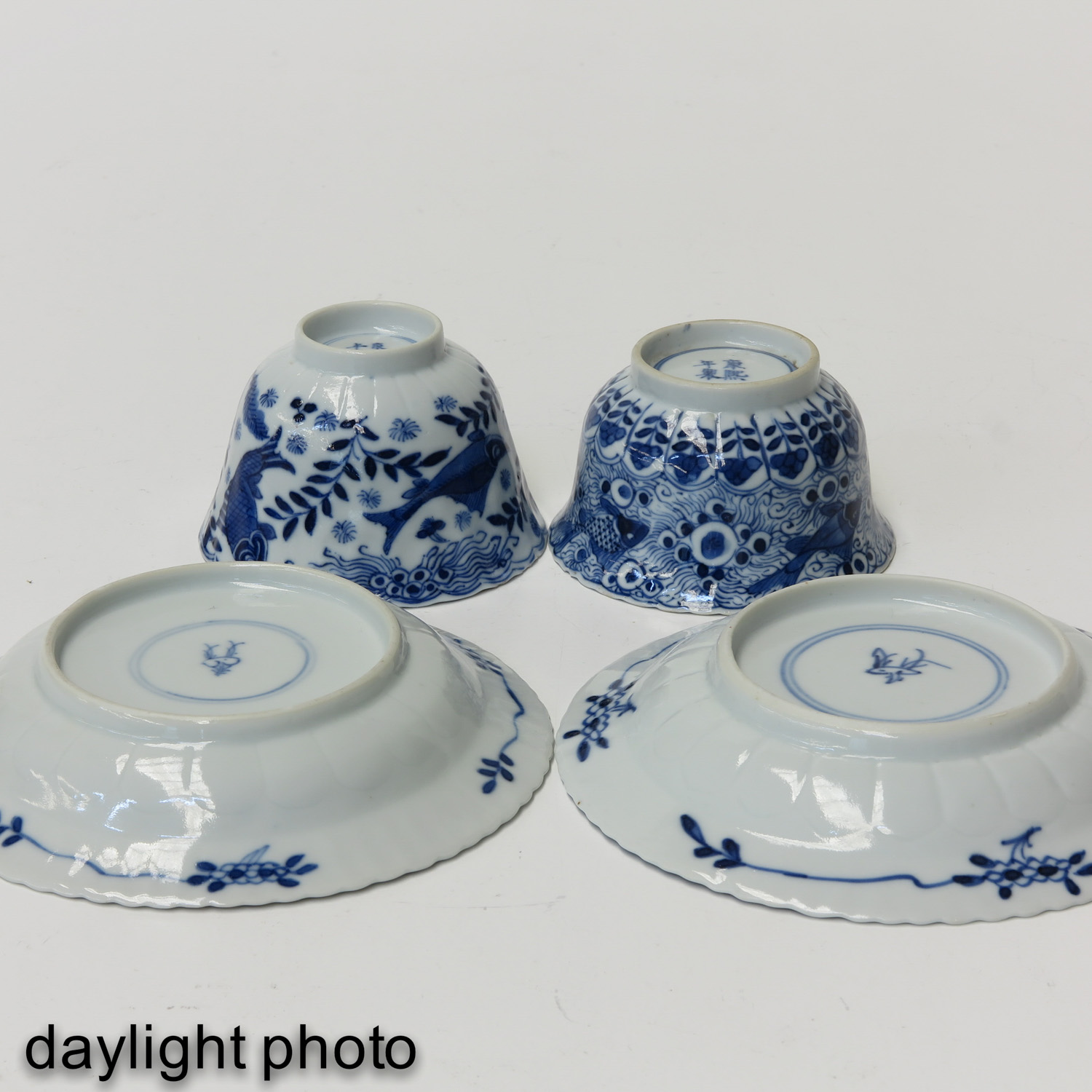 A Series of 12 Cups and Saucers - Image 10 of 10