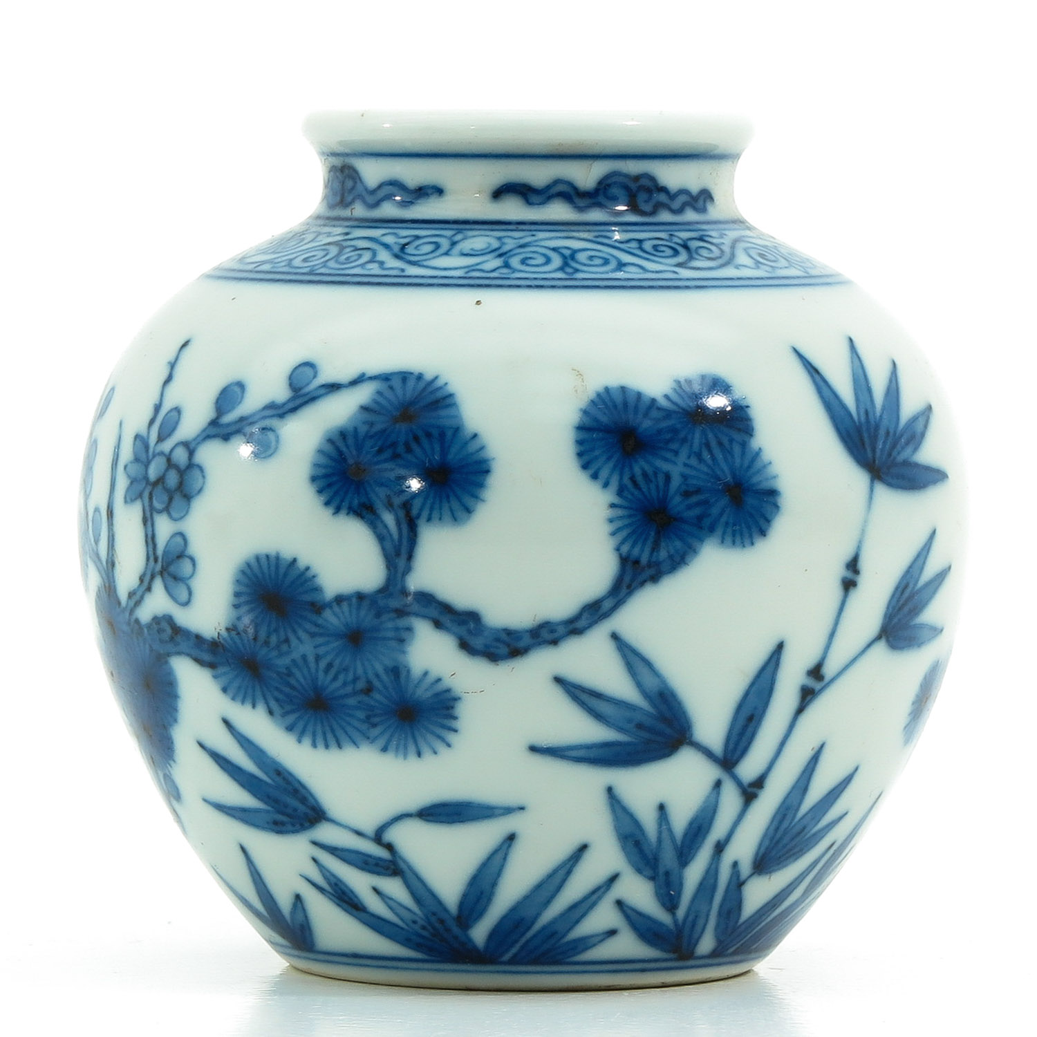 A Small Blue and White Vase - Image 3 of 9