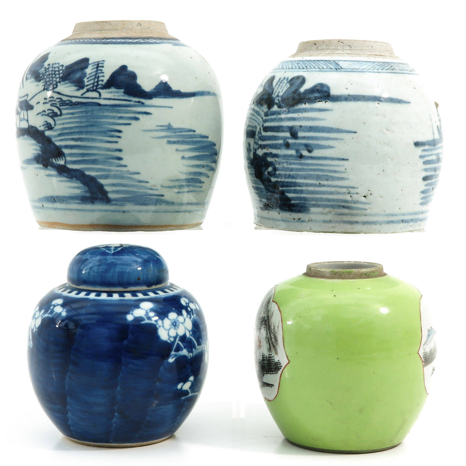 A Collection of 4 Ginger Jars - Image 2 of 9