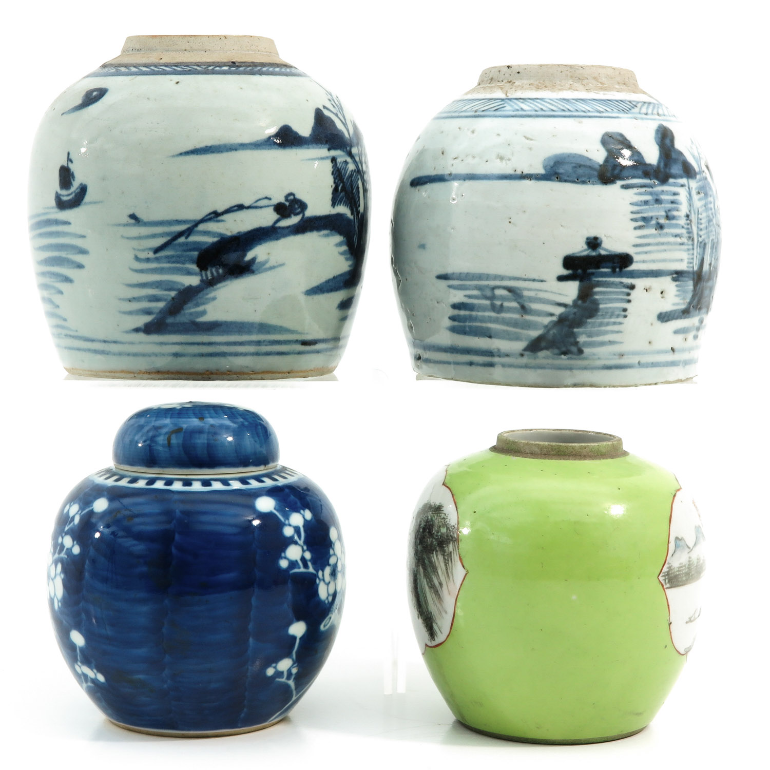 A Collection of 4 Ginger Jars - Image 4 of 9