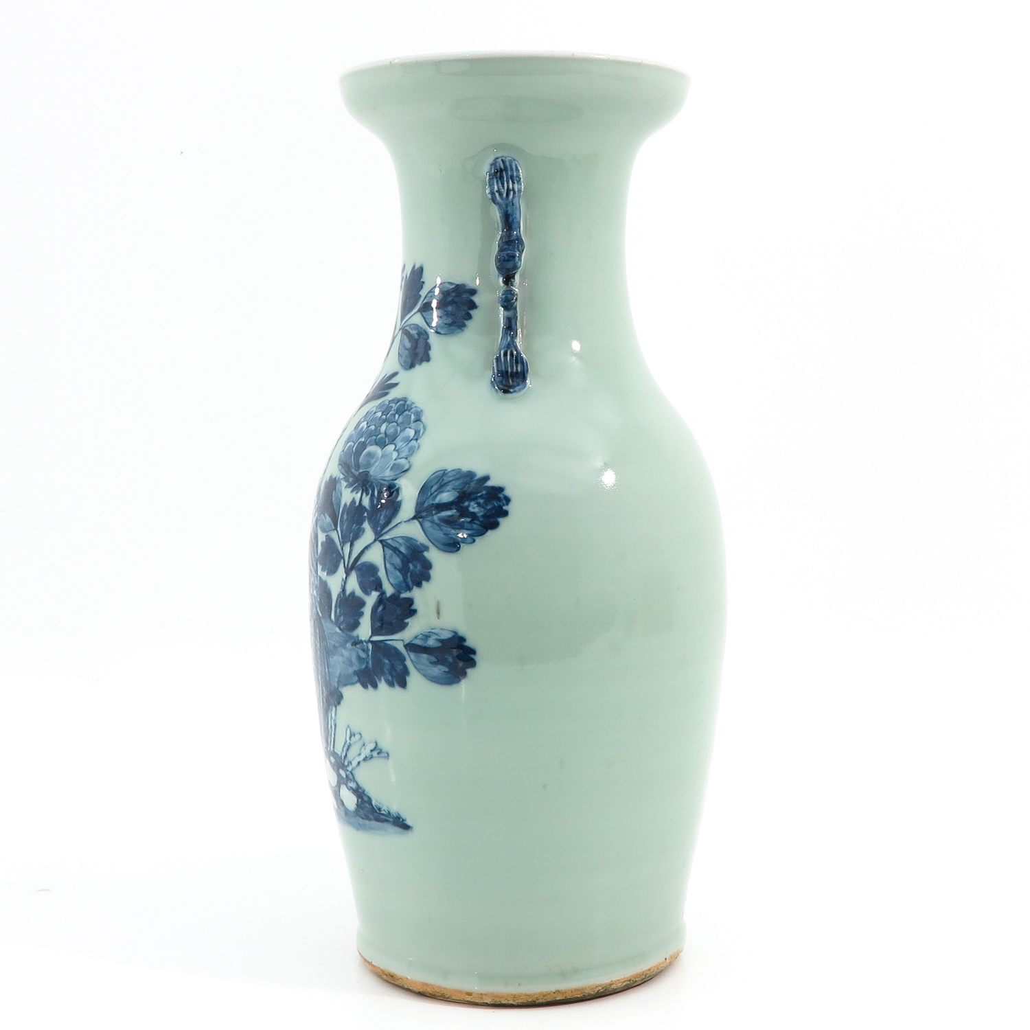 A Celadon and Blue Vase - Image 2 of 10