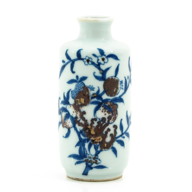 A Miniature Vase