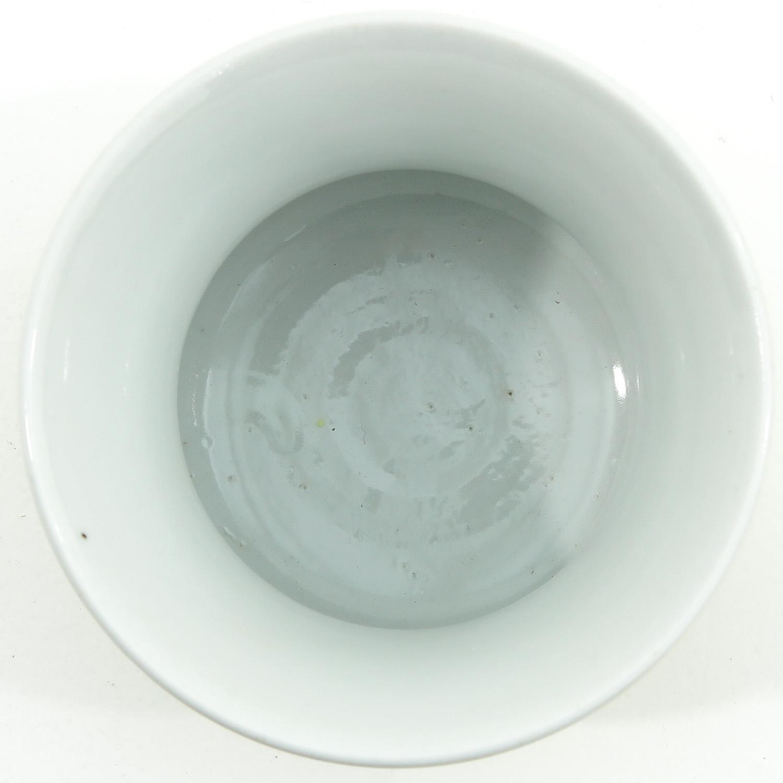A Yellow Glazed Vase - Image 5 of 9