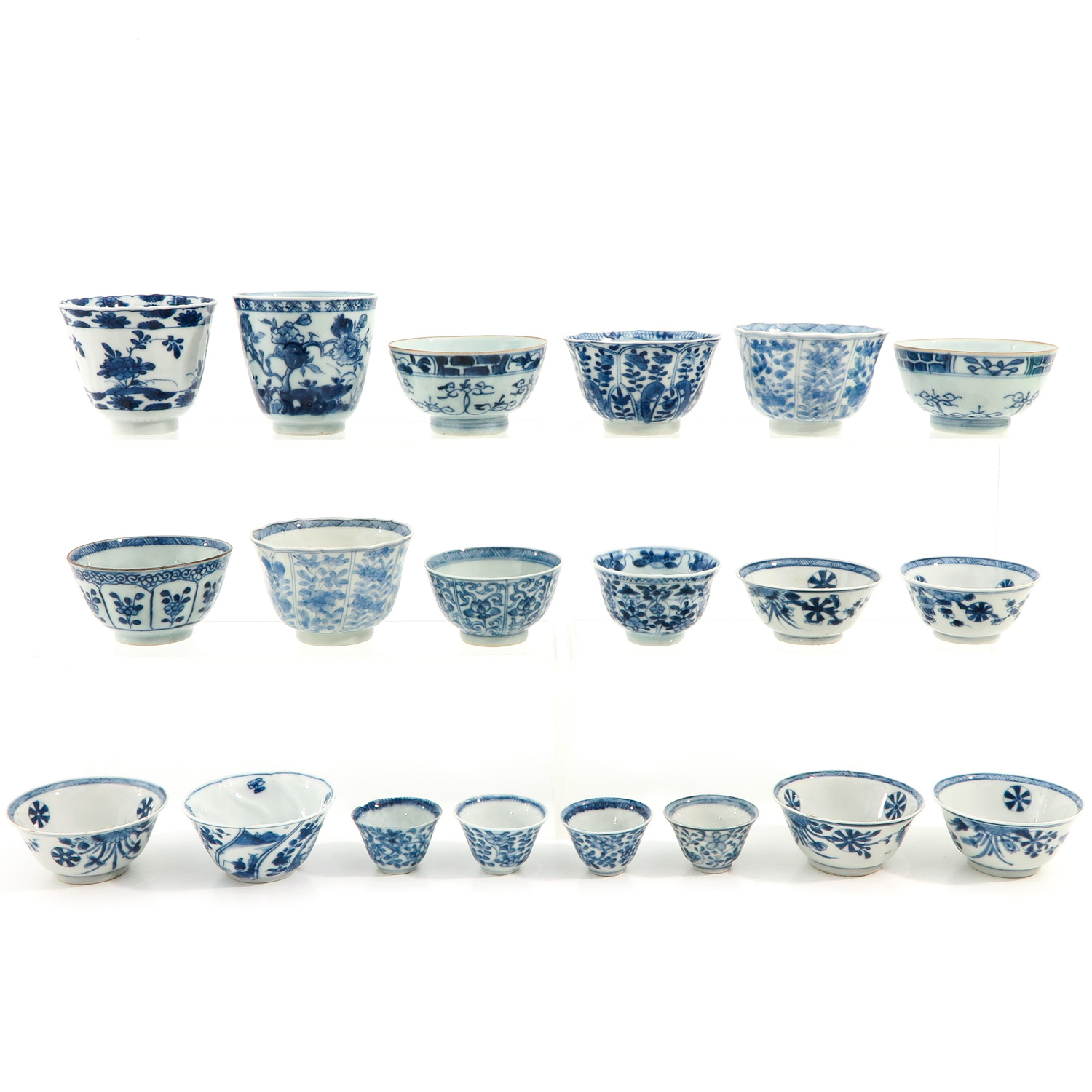 A Collection of 20 Cups