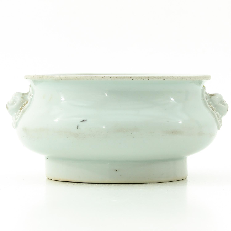 A Blanc de Chine Censer - Image 3 of 9