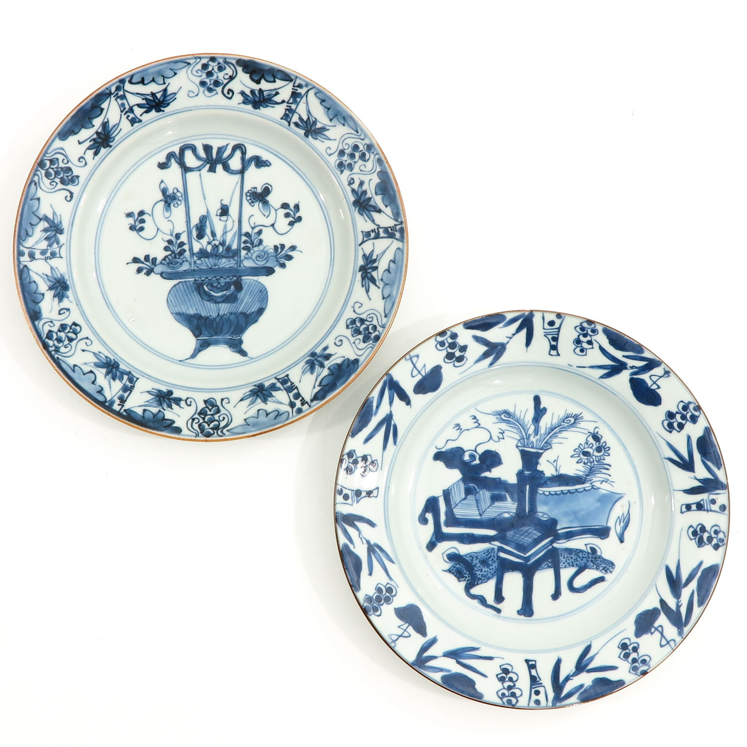 A Series of 6 Blue and White Plates - Image 7 of 10