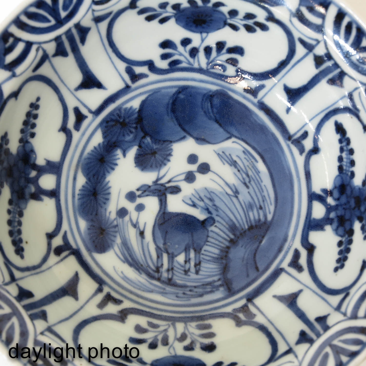A Blue and White Bowl - Image 9 of 9