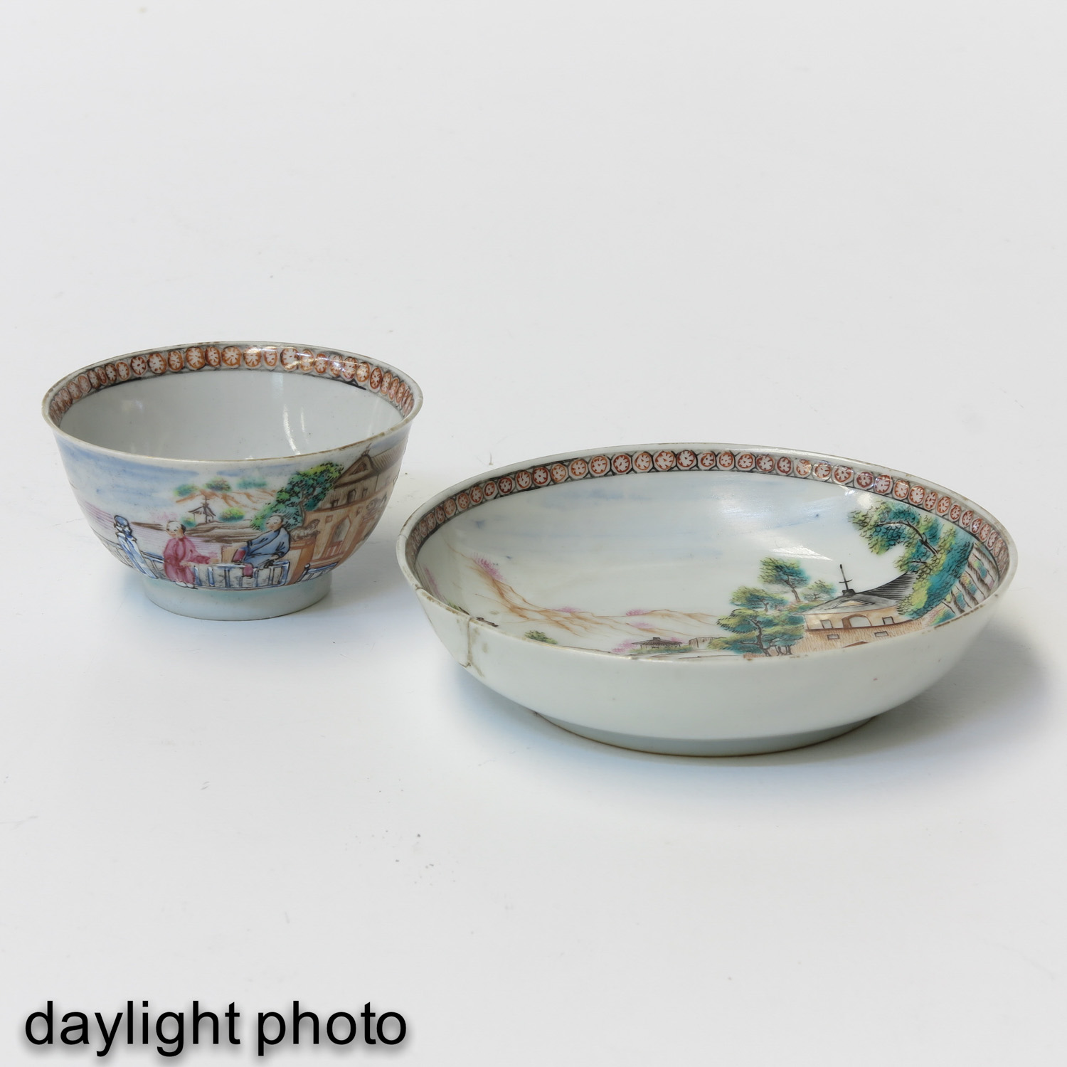 A Series of 3 Cups and Saucers - Image 9 of 10