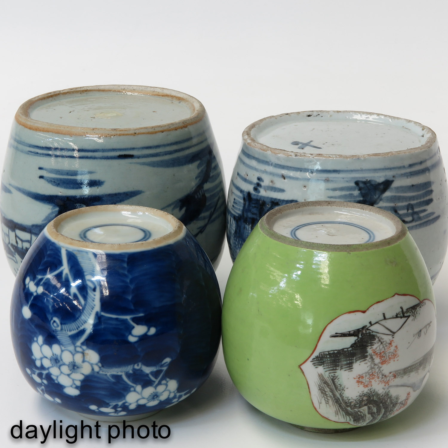 A Collection of 4 Ginger Jars - Image 8 of 9