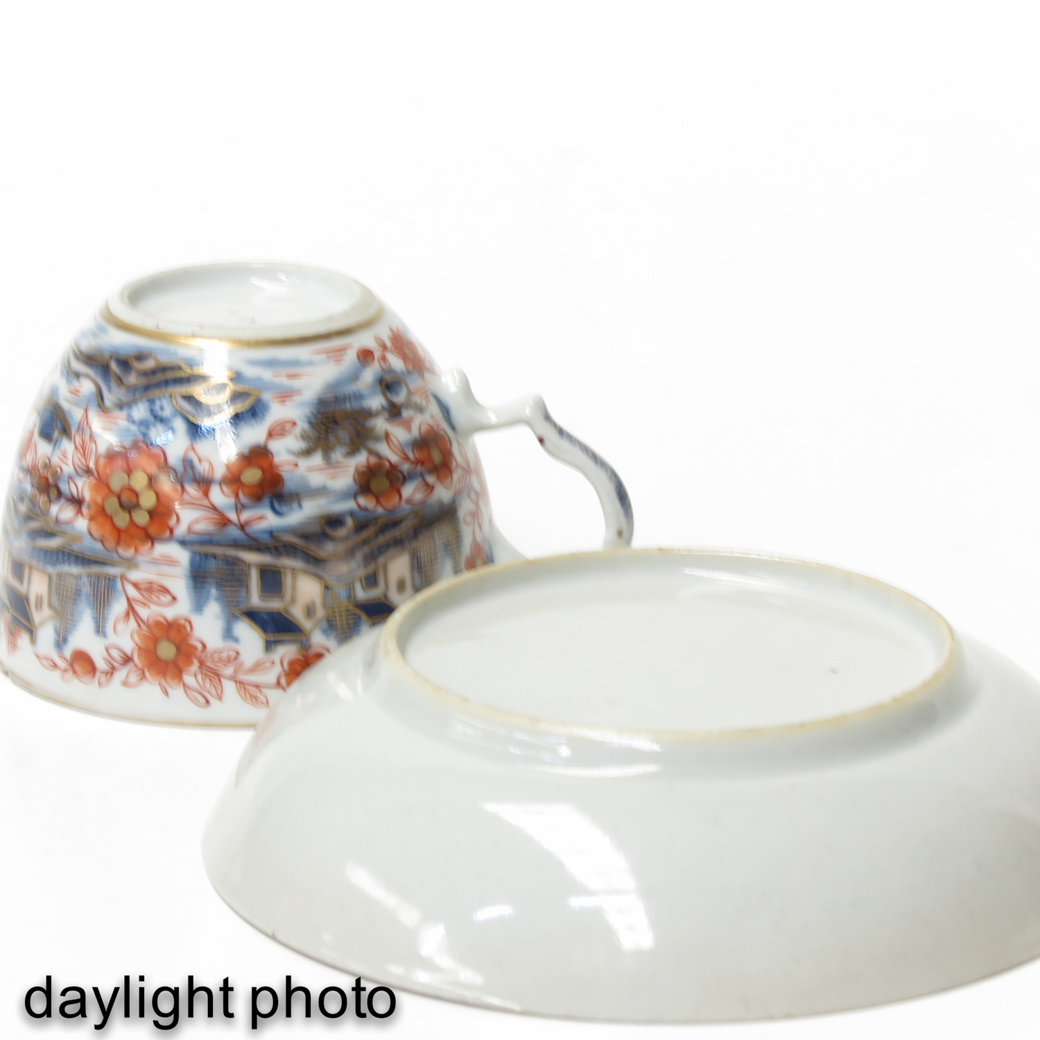 4 Imari Cups and Saucers - Image 10 of 10