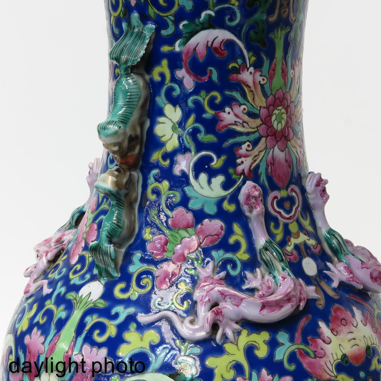 A Famille Rose Vase - Image 9 of 9