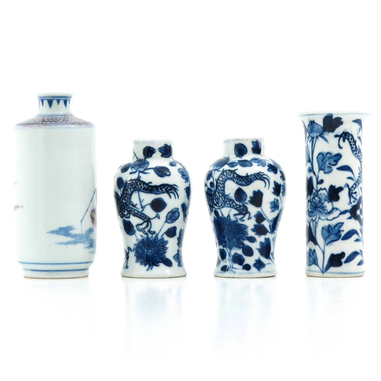 A Collection of 4 Miniature Vases - Image 3 of 10