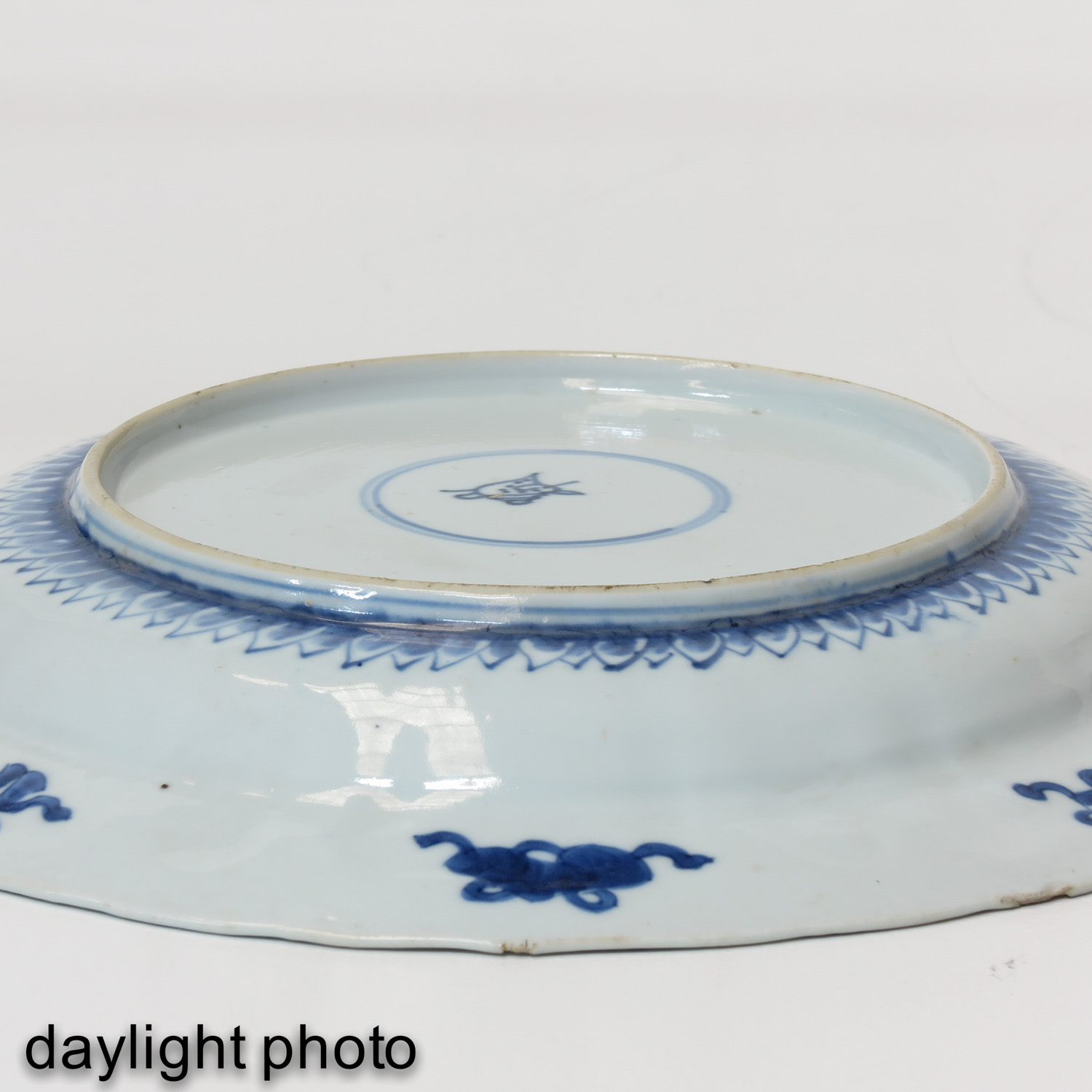 A Blue and White Plate - Image 4 of 6