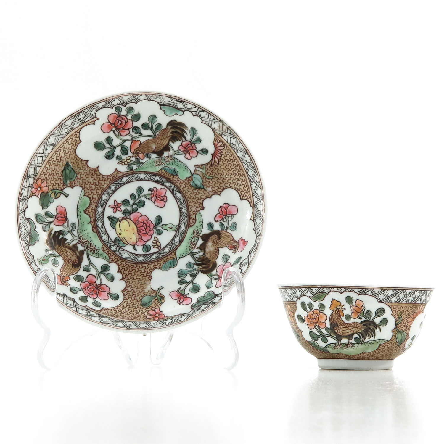 A Rooster Decor Cup and Saucer - Image 4 of 10