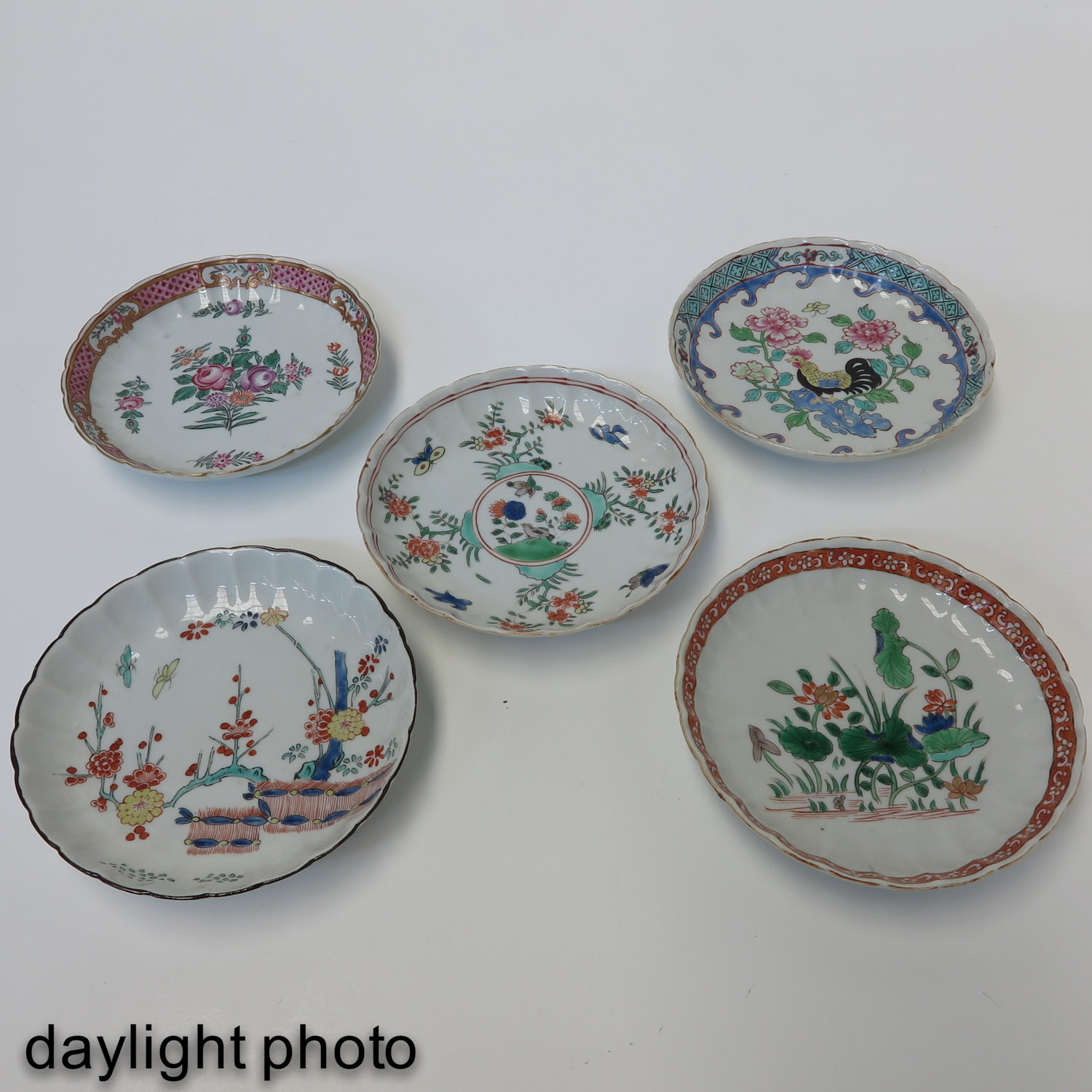 A Lot of 7 Small Plates - Image 9 of 10