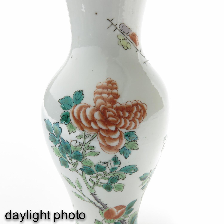 A Famille Verte Vase - Image 10 of 10