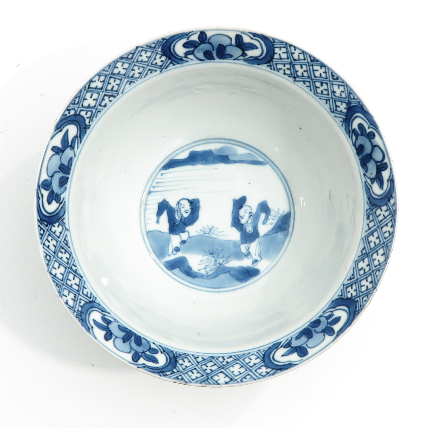 A Blue and White Bowl - Image 5 of 10