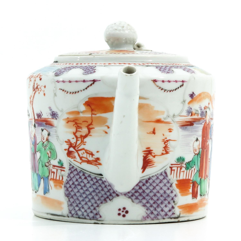 A Mandarin Decor Teapot - Image 4 of 9