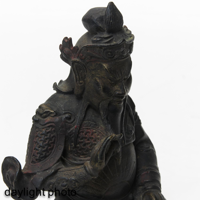 A Bronze Sculpture - Image 9 of 10