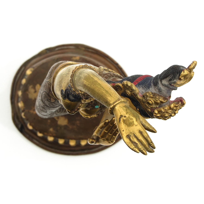 A Bronze Quanyin Sculputre - Image 5 of 10