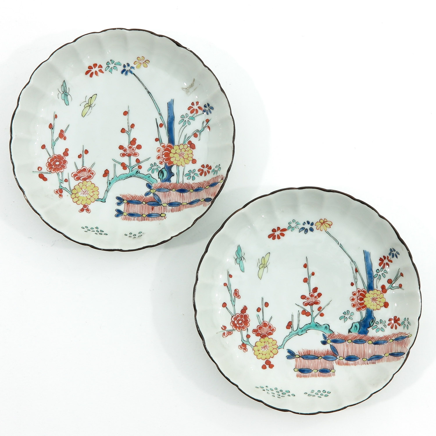 A Lot of 7 Small Plates - Image 5 of 10
