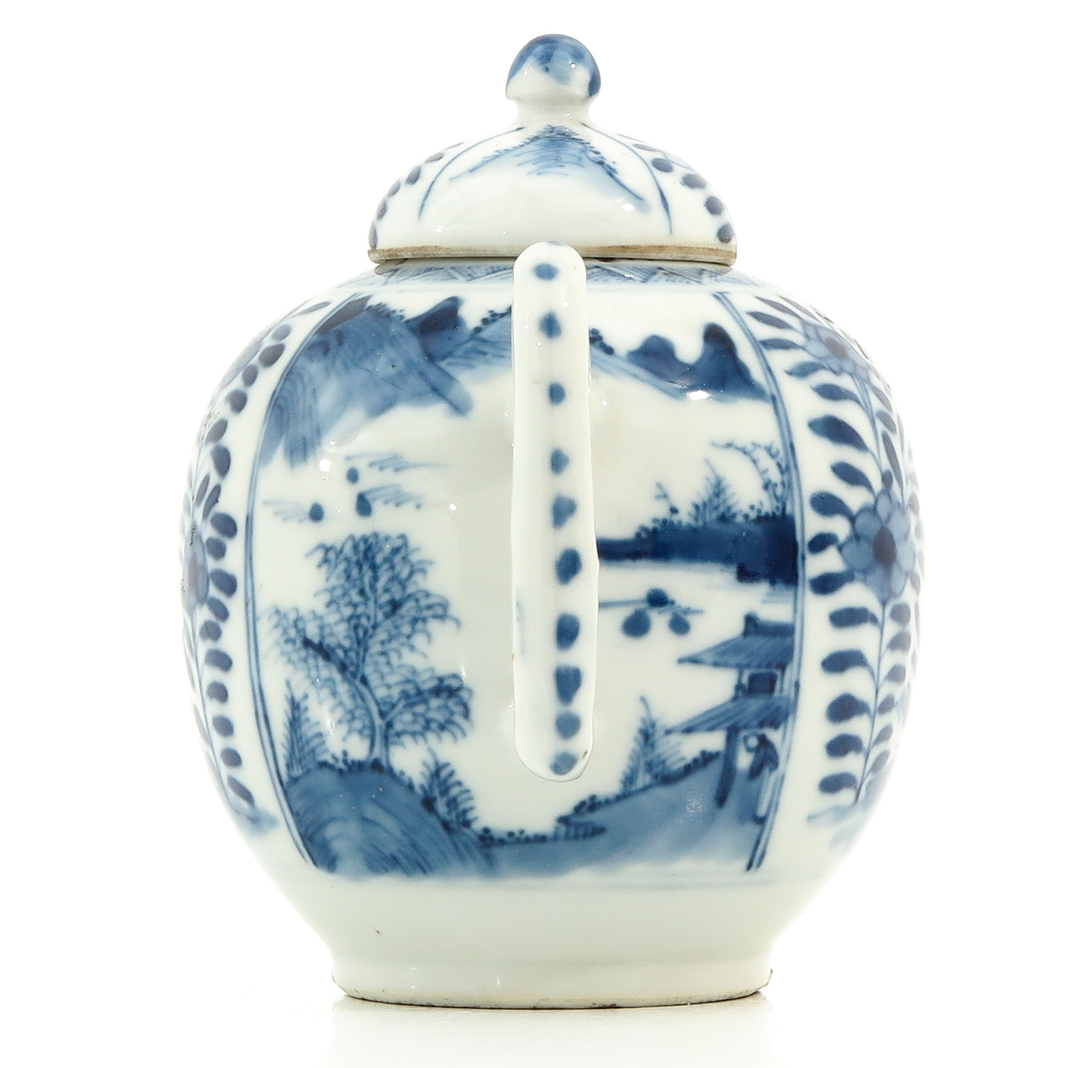 A Blue and White Teapot - Image 2 of 9