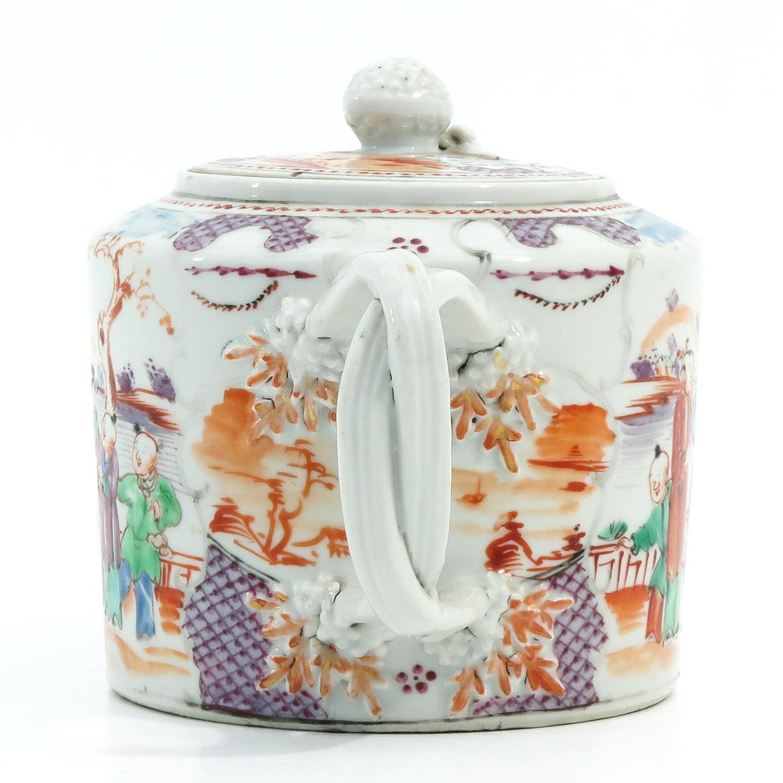A Mandarin Decor Teapot - Image 2 of 9
