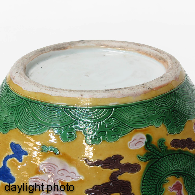 A Polychrome Decor Ginger Jar - Image 8 of 9