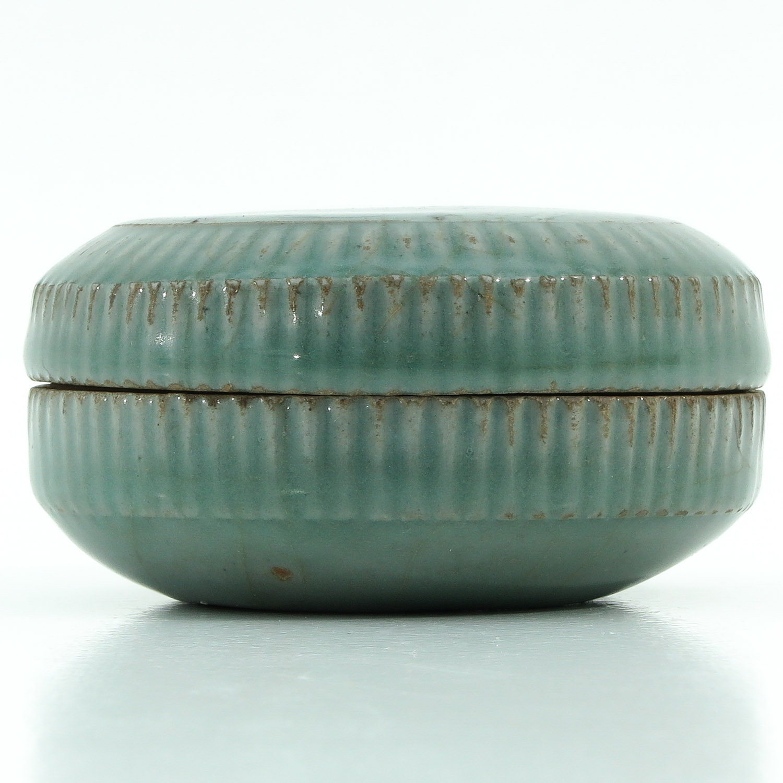 A Celadon Box. - Image 2 of 9