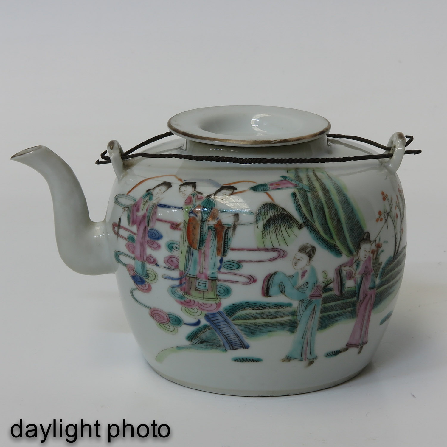 A Famille Rose Teapot - Image 7 of 10