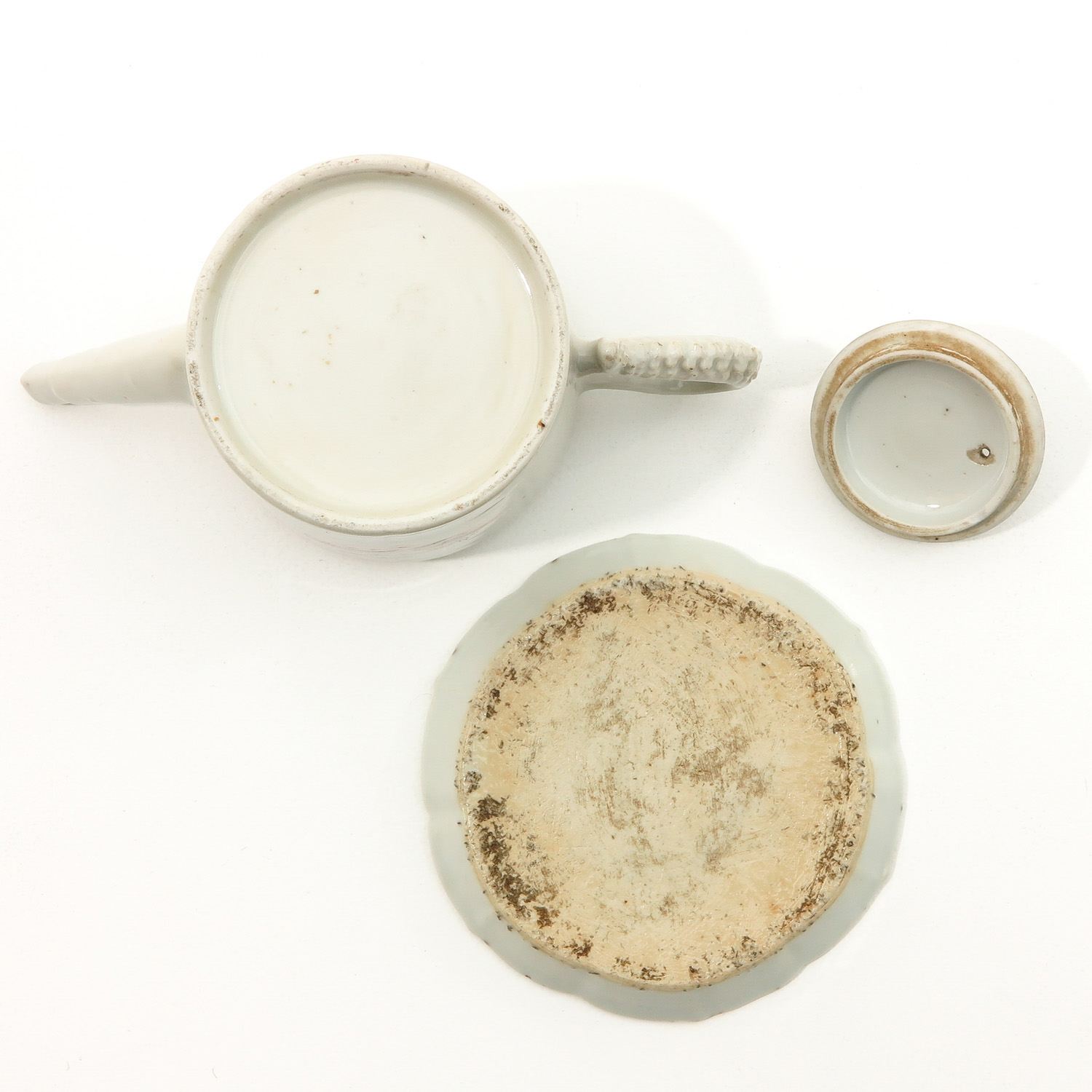 A Teapot and Small Dish - Image 6 of 9