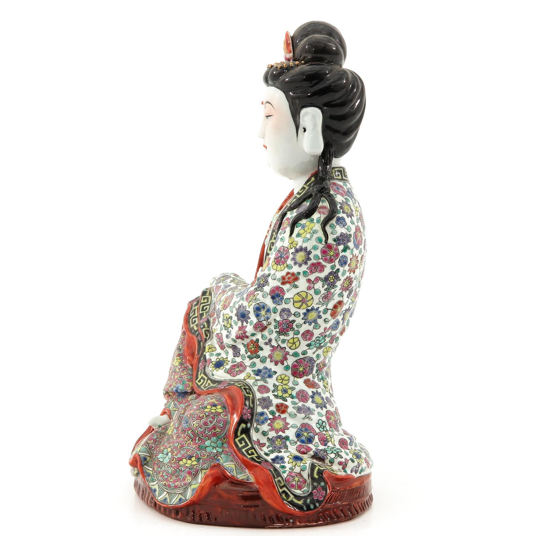 A Quanyin Sculpture - Image 2 of 10
