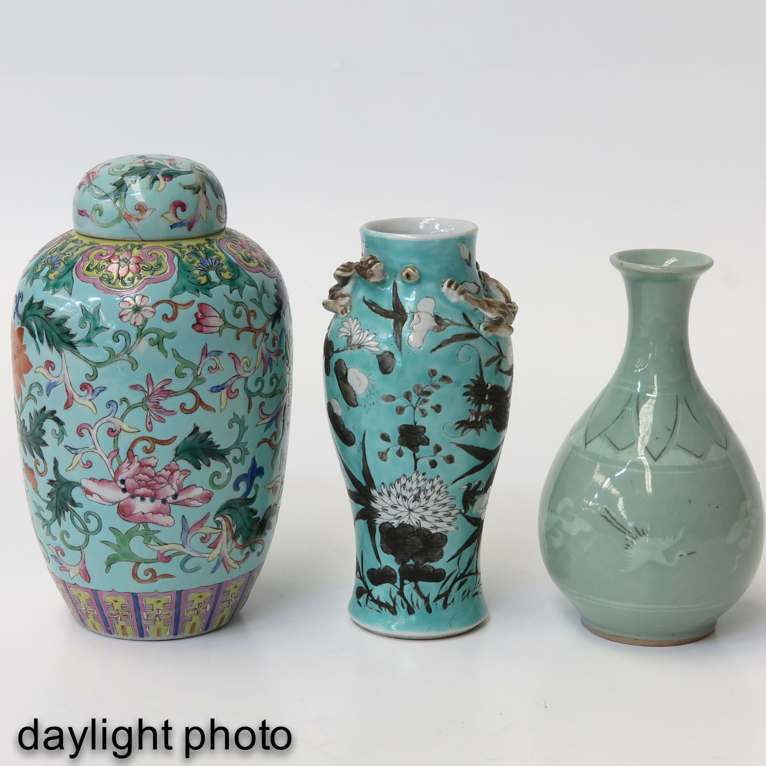 A Collection of 3 Vases - Image 7 of 9