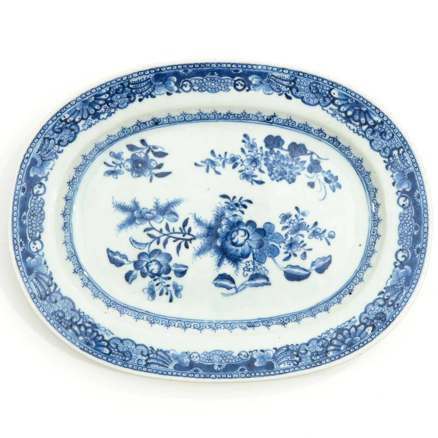 A Pair of Blue and White Chargers - Image 5 of 10