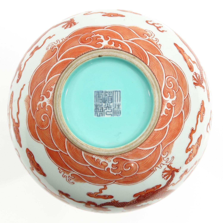 A Dragon Decor Vase - Image 6 of 10