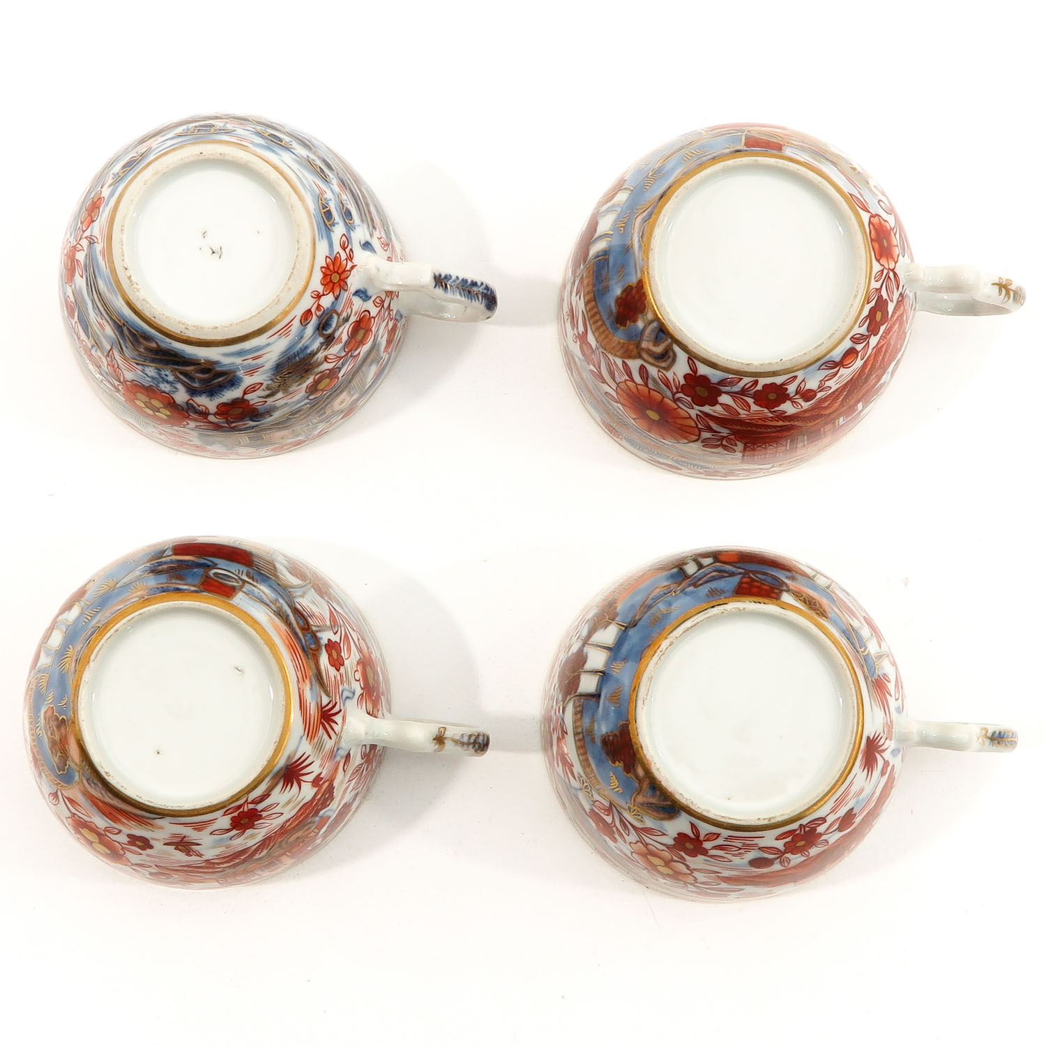 4 Imari Cups and Saucers - Image 6 of 10