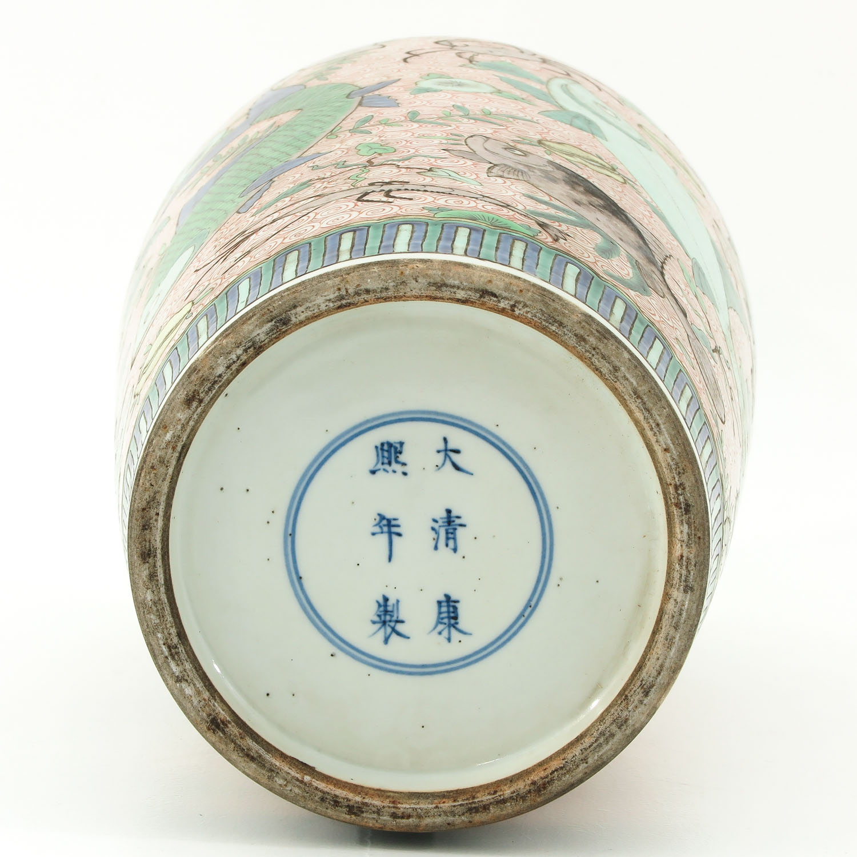 A Polychrome Vase - Image 6 of 10