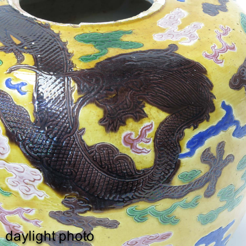 A Polychrome Decor Ginger Jar - Image 9 of 9
