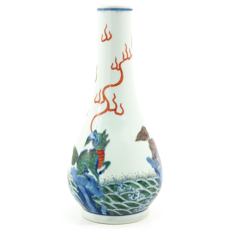 A Doucai Decor Vase - Image 4 of 9