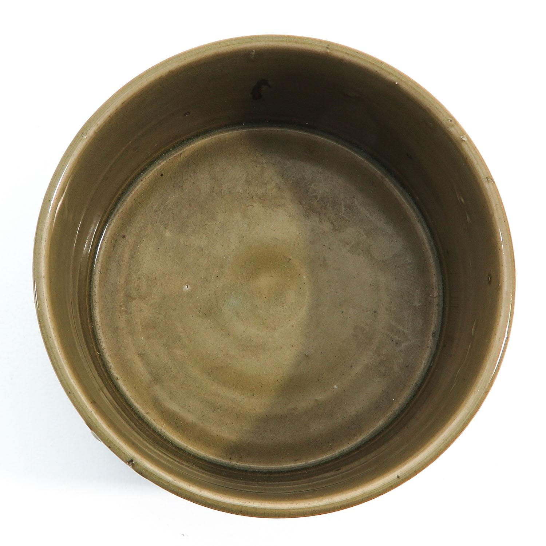 A Celadon Tripod Censer - Image 5 of 9