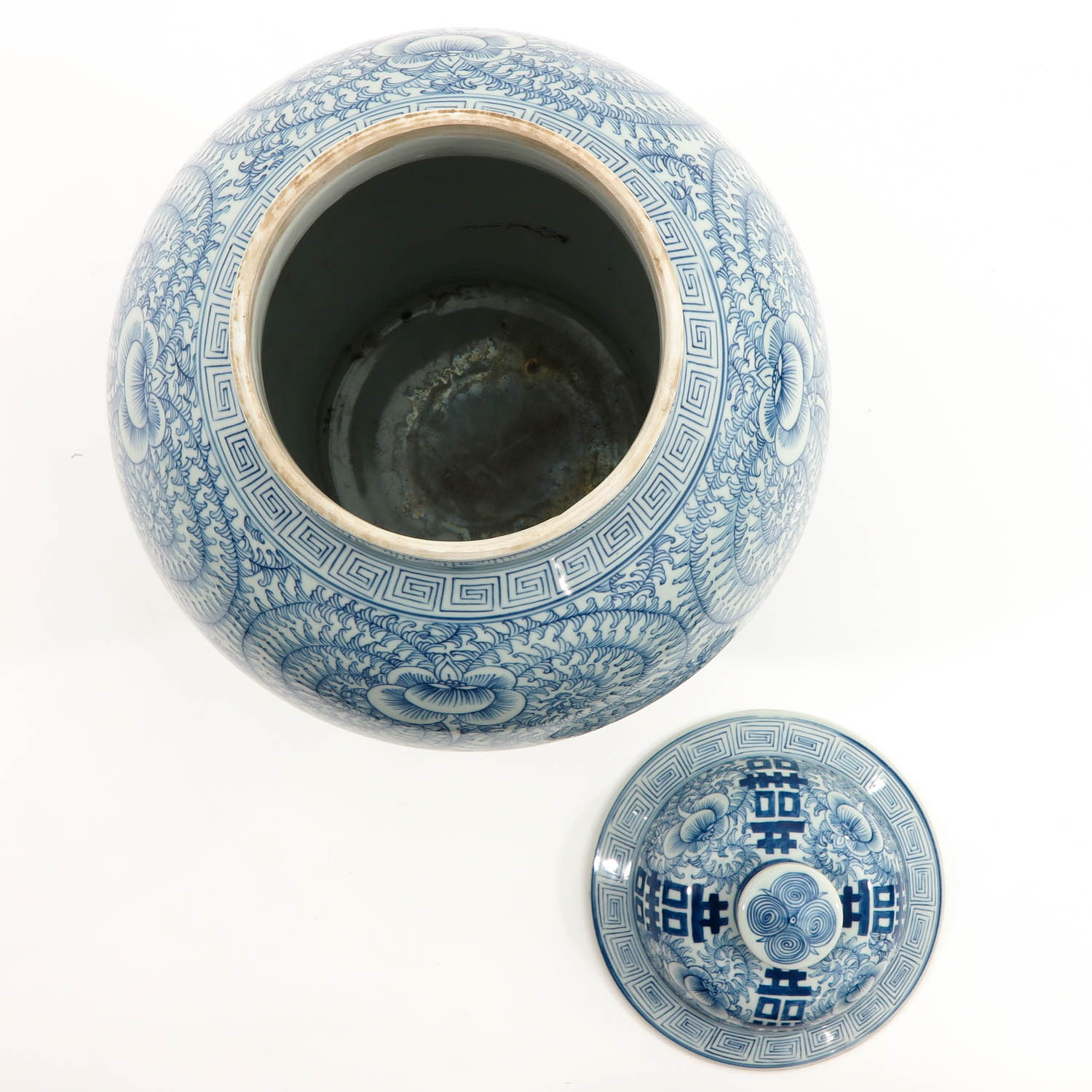 A Blue and White Vase with Cover - Image 5 of 9