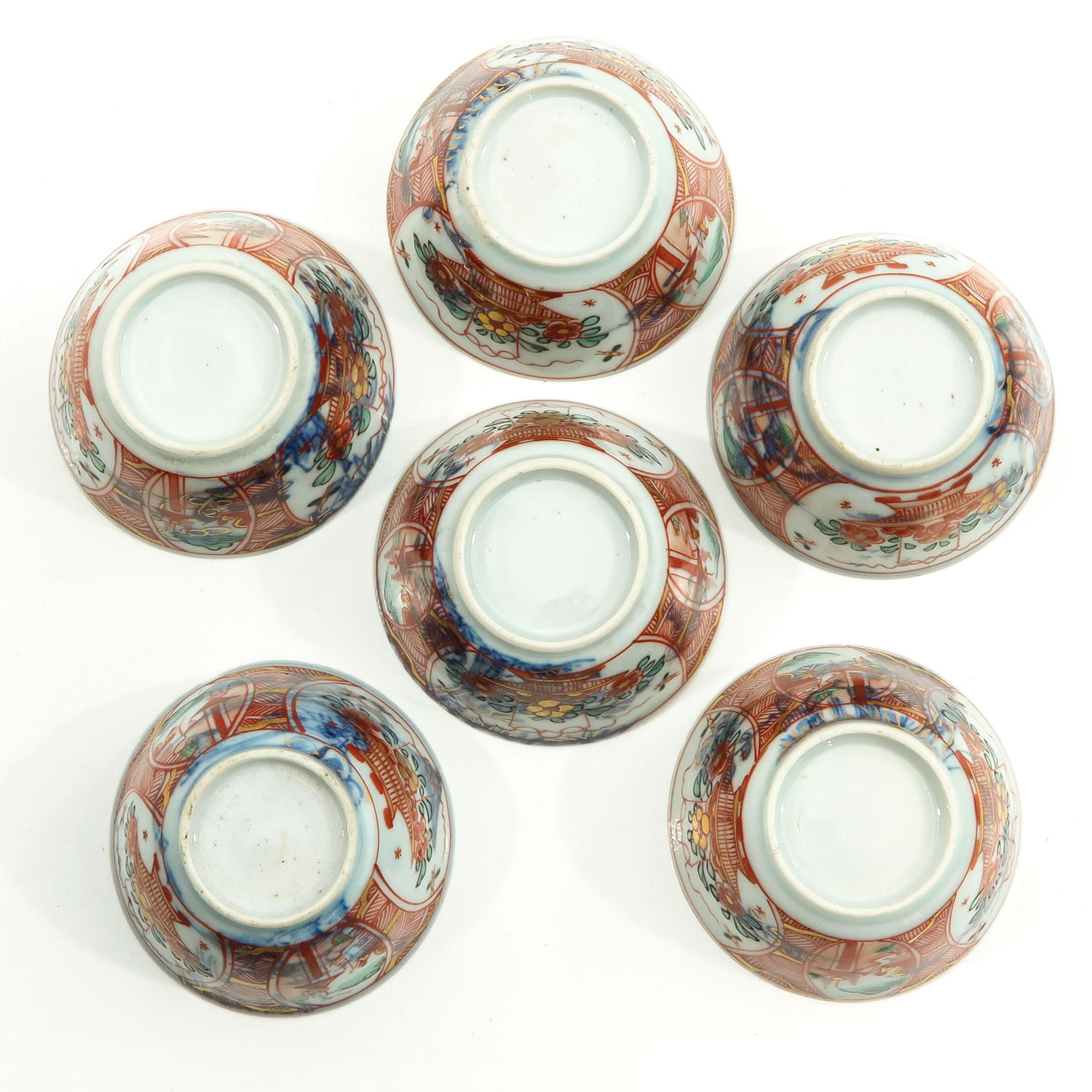 A Series of 6 Cups and Saucers - Image 6 of 10
