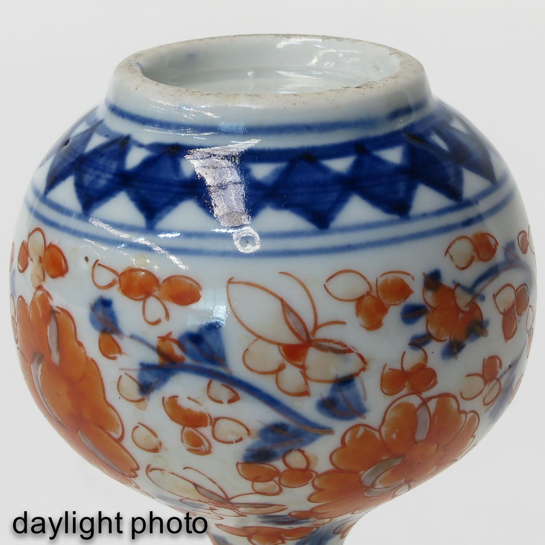 An Imari Vase - Image 8 of 9