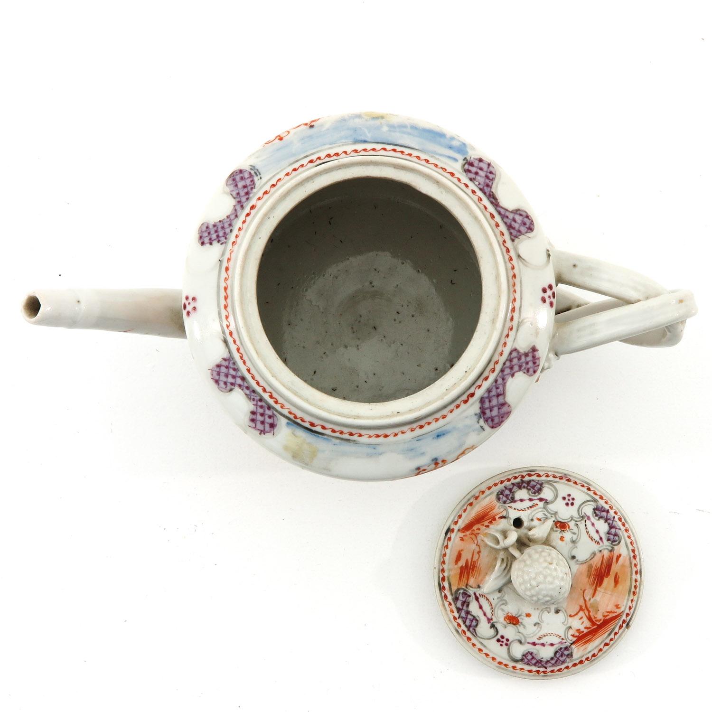 A Mandarin Decor Teapot - Image 5 of 9