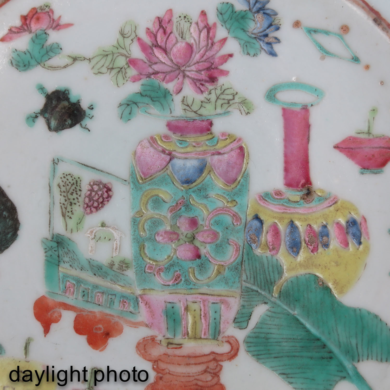 A Famille Rose Wash Basin - Image 9 of 9