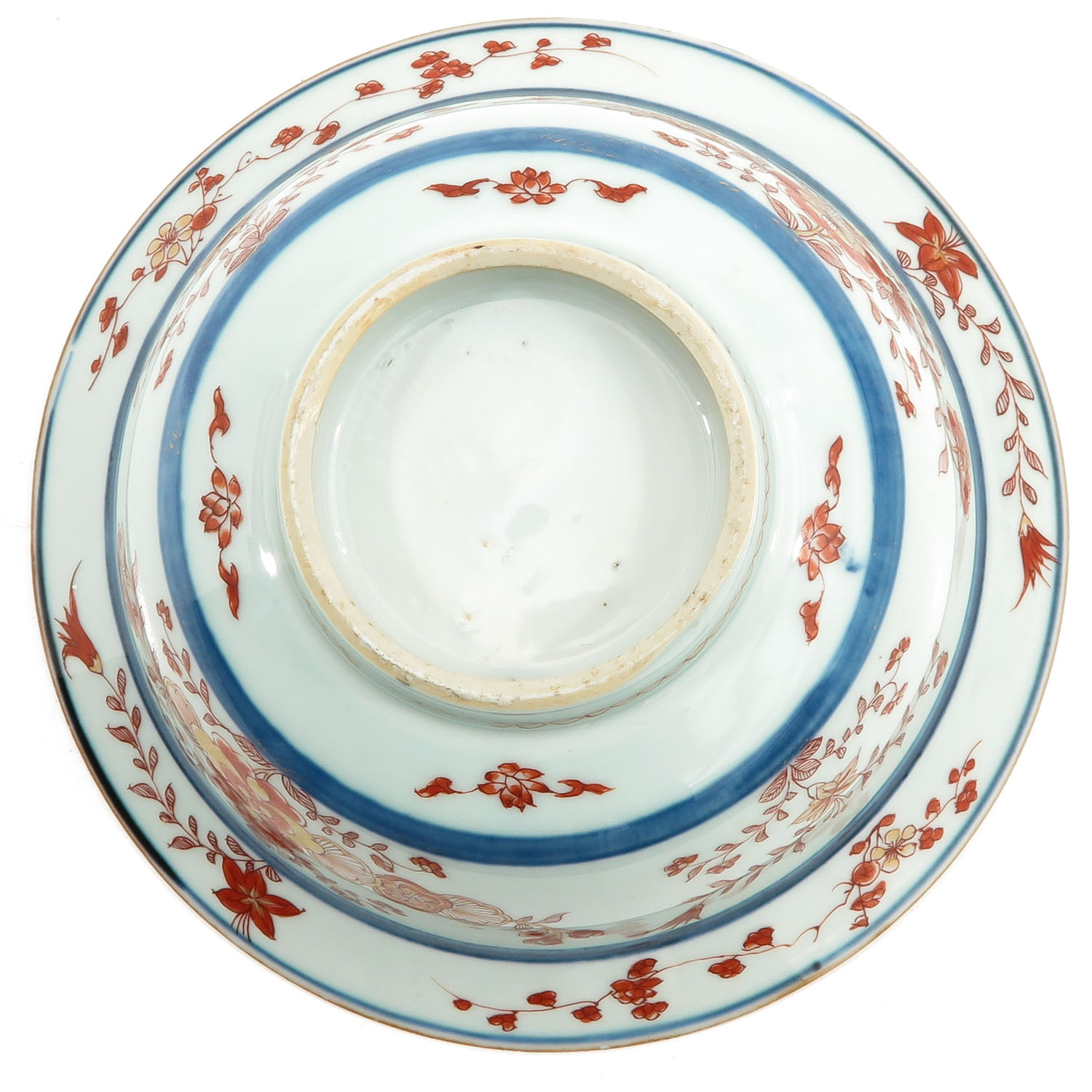A Blue and Iron Red Bowl - Image 6 of 9